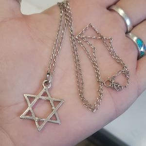 Mexican Sterling 6 point star